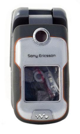 Корпус Class A-A-A Sony-Ericsson W710 черный