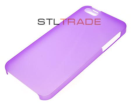 Задняя накладка Jack Case Xinbo Ultra Thin 0,5 mm для iPhone 5, фиолетовая