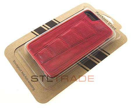Накладка кожаная Fashion case для iPhone 6 4,7 красная